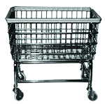 COIN OP CART CHROME 4 inch ID9979 ID11768